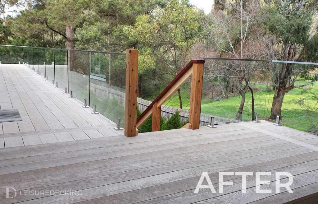 Millboard Deck Installation by Leisure Decking