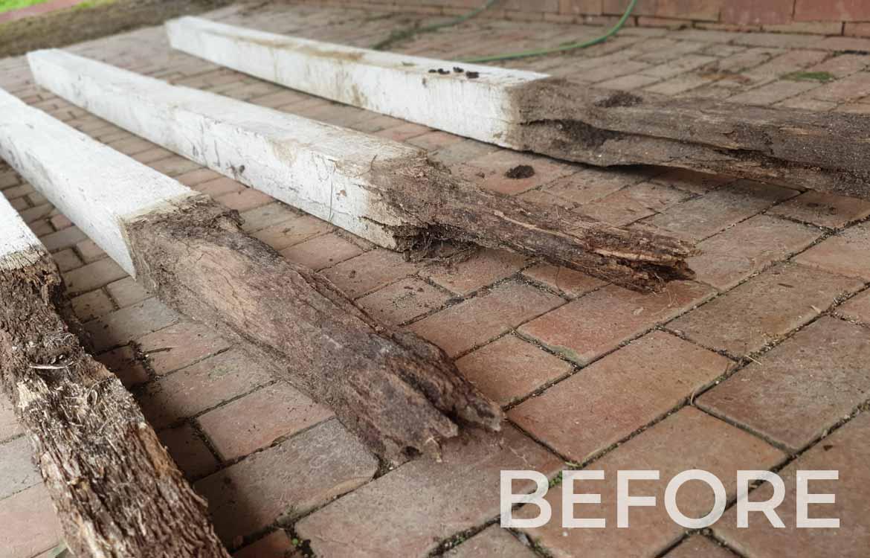 Rotten Deck Stumps