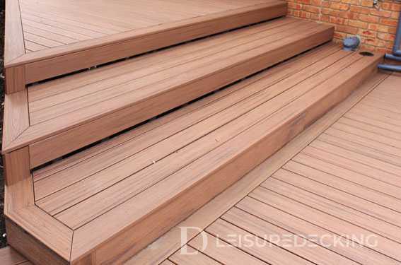 Trex Deck Stairs by Leisure Decking Melbourne