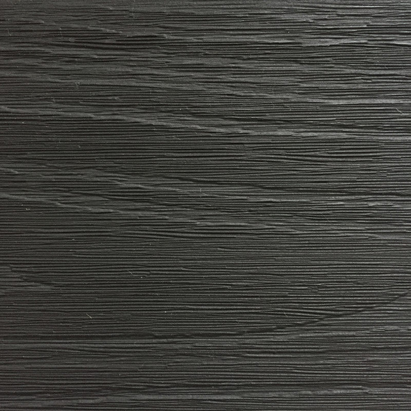 Poliwood Composite Decking Charcoal Swatch